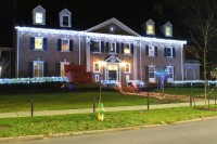 Sigma Nu Aglow For Local Competition